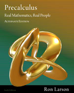 Precalculus: Real Mathematics, Real People - Alternate Edition